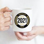 Coffee Mug - Congrats You Did It 003 - Gift Ideas For Class of 2021 Graduation