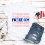 Freedom T-Shirt, Celebration Fourth Of July T-Shirt, July 4th Shirt, Independence Day T-Shirt