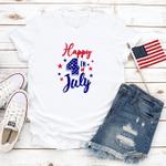 Happy 4th of July T-Shirt, American Flag, Celebration July 4th, Merica Unisex Shirt