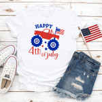 Happy 4th of July T-Shirt, American Flag, Celebration July 4th