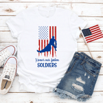 Honor Our Fallen Soldiers, Patriotic T-Shirt, Freedom T-Shirt, Celebration Fourth Of July T-Shirt, July 4th Shirt, Independence Day T-Shirt