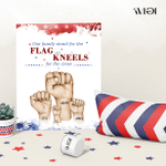 Stand For The Flag And Kneels For The Cross Veteran Family, Fourth Of July Poster, Independence Day, American Pride, Patriotism, Bravery