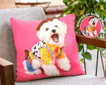 Personalized Two-sided Pillow, Custom Pet Photo Add Picture, Home Decor, Gift For Pet Lovers, Housewarming Gifts