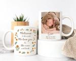 Personalized Two-sided Mug, Baby Photo Mug, Gift for family, Personalized Coffee Mug for Mom, Housewarming Gift