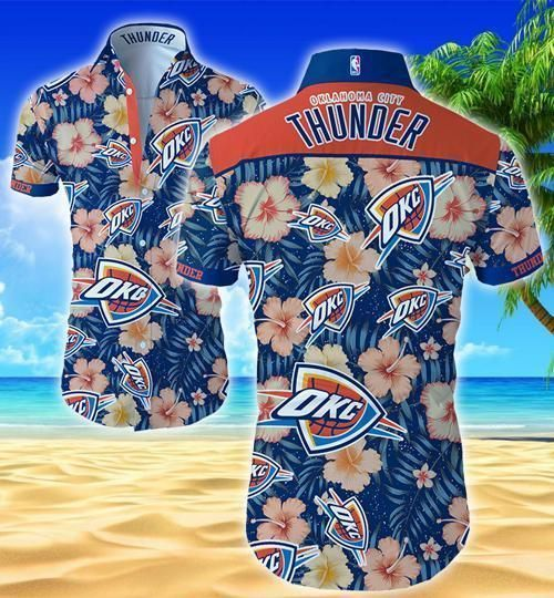 Oklahoma City Thunder Hawaii Fit Body Shirt
