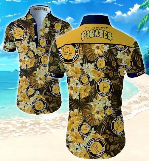 Pittsburgh Pirates Hawaii Fit Body Shirt
