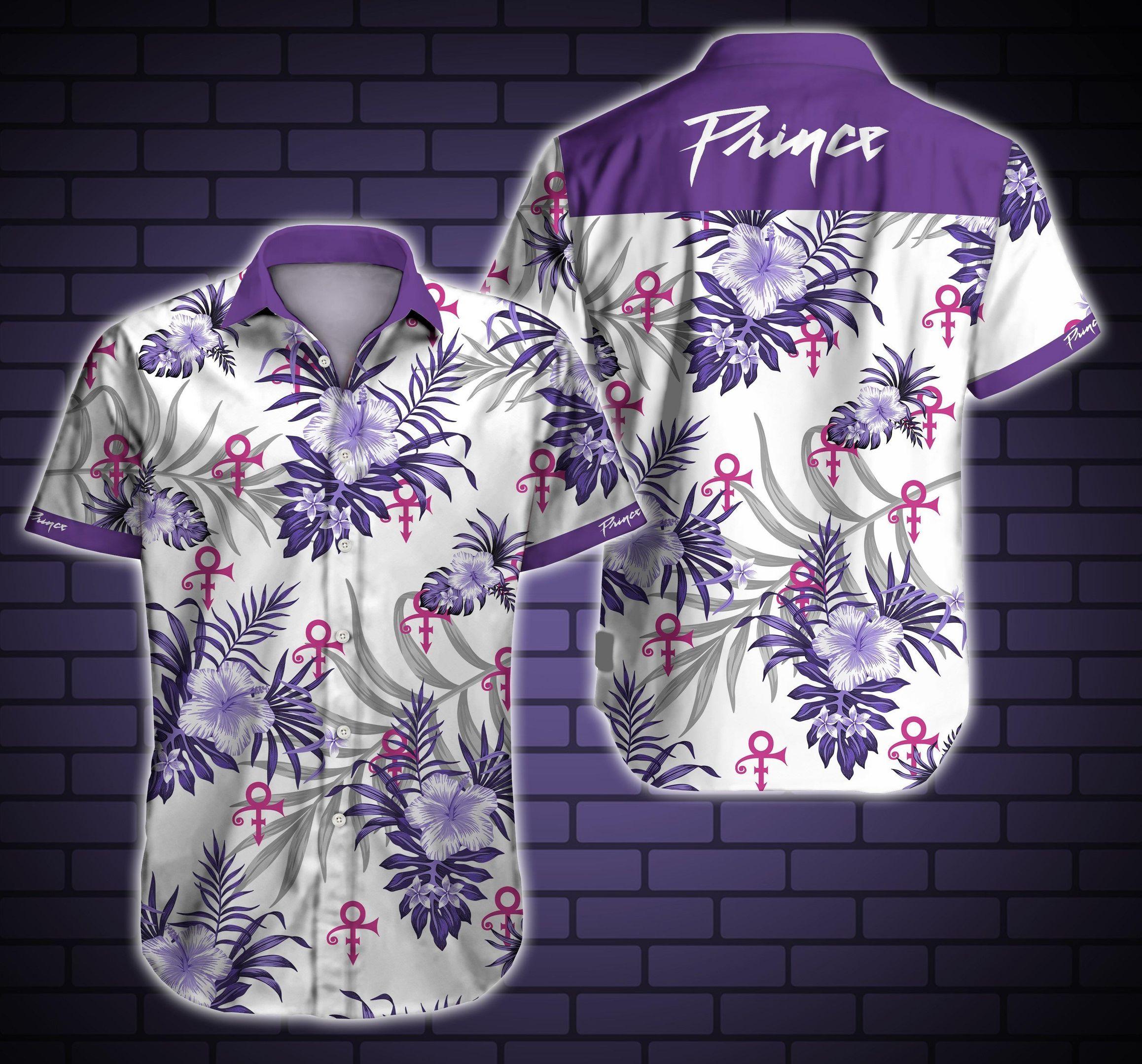 Prince logo Hawaiian Shirt Summer Shirt