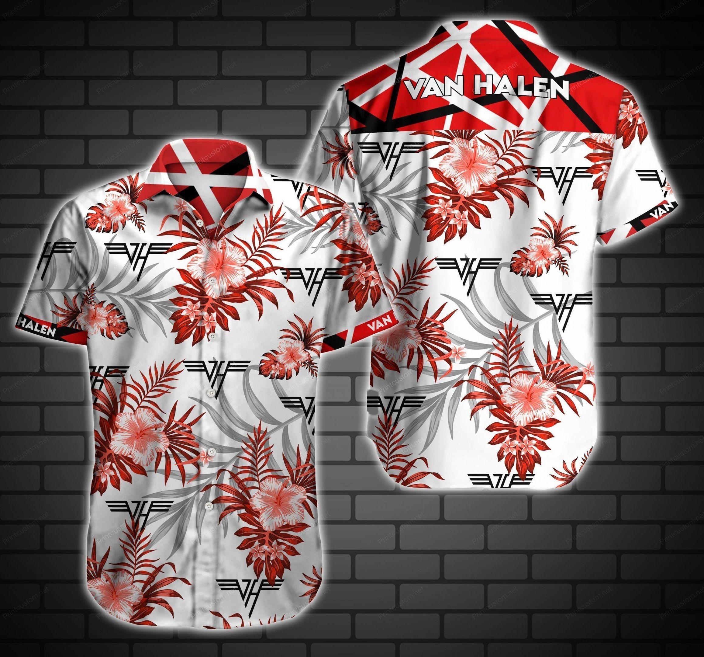 Van Halen Hawaii Shirt