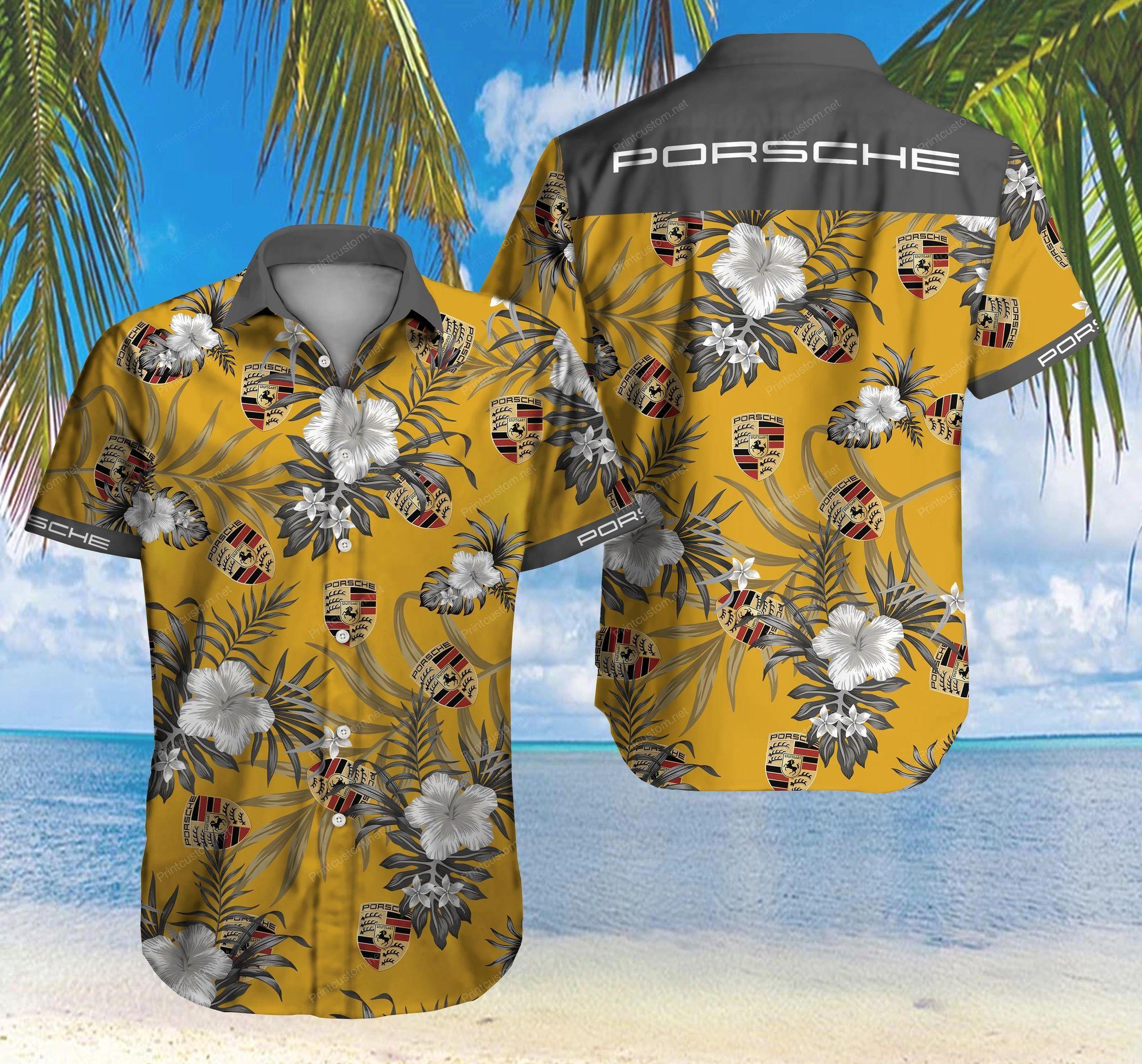 Porsche Hawaii Shirt Ver 4 Summer