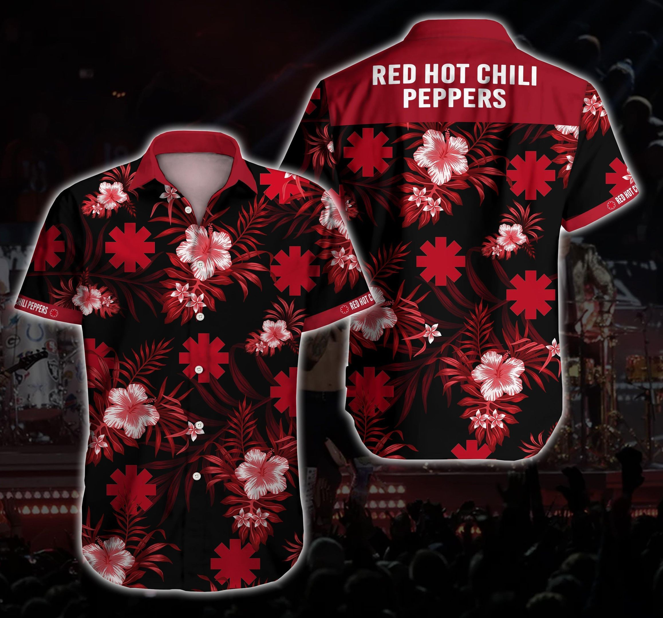 Red Hot Chili Peppers Hawaii Shirt Summer