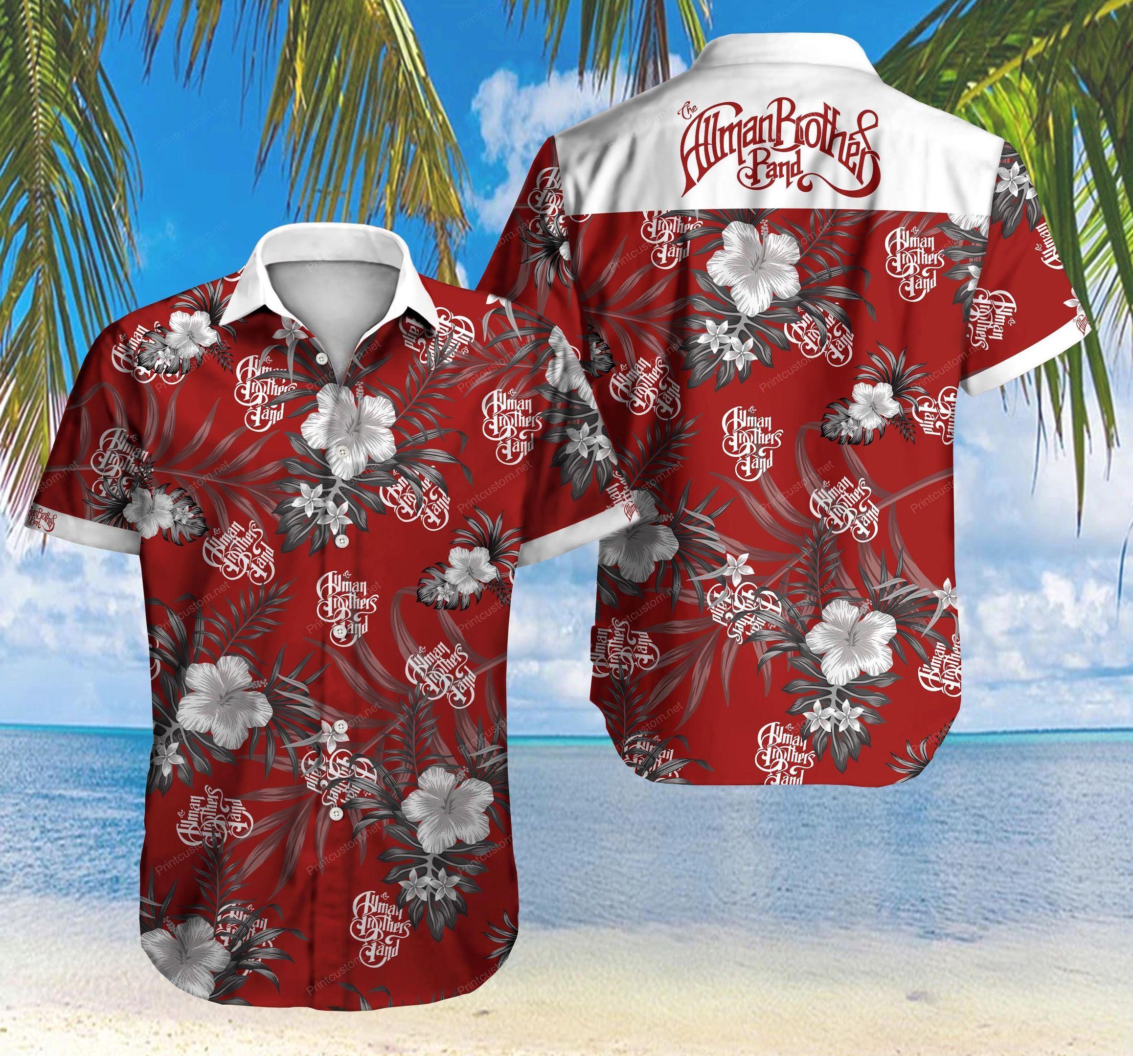 The Allman Brother Band Hawaii Shirt Summer