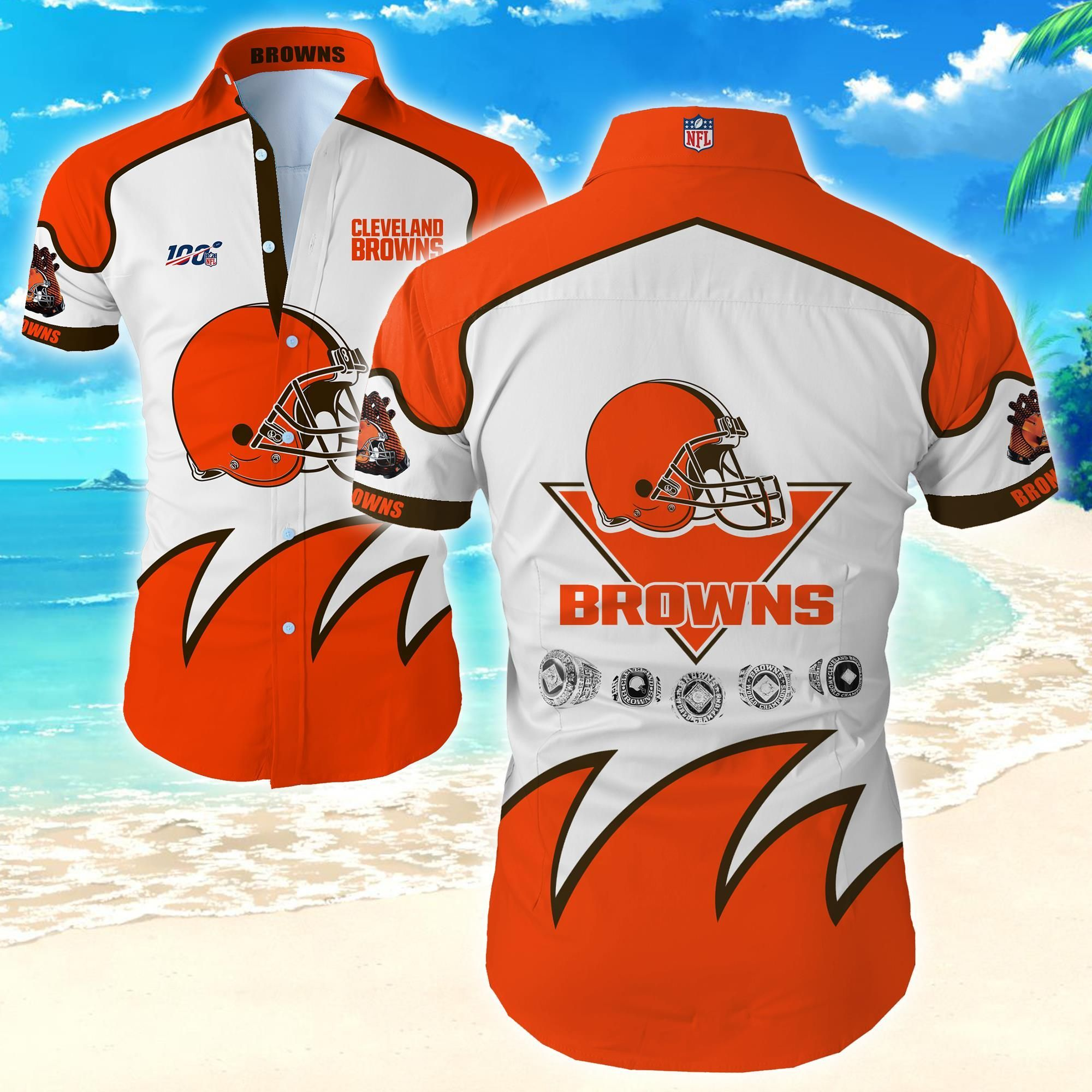 Nfl Cleveland Browns Special Edition Hawaiian Shirt For Fan
