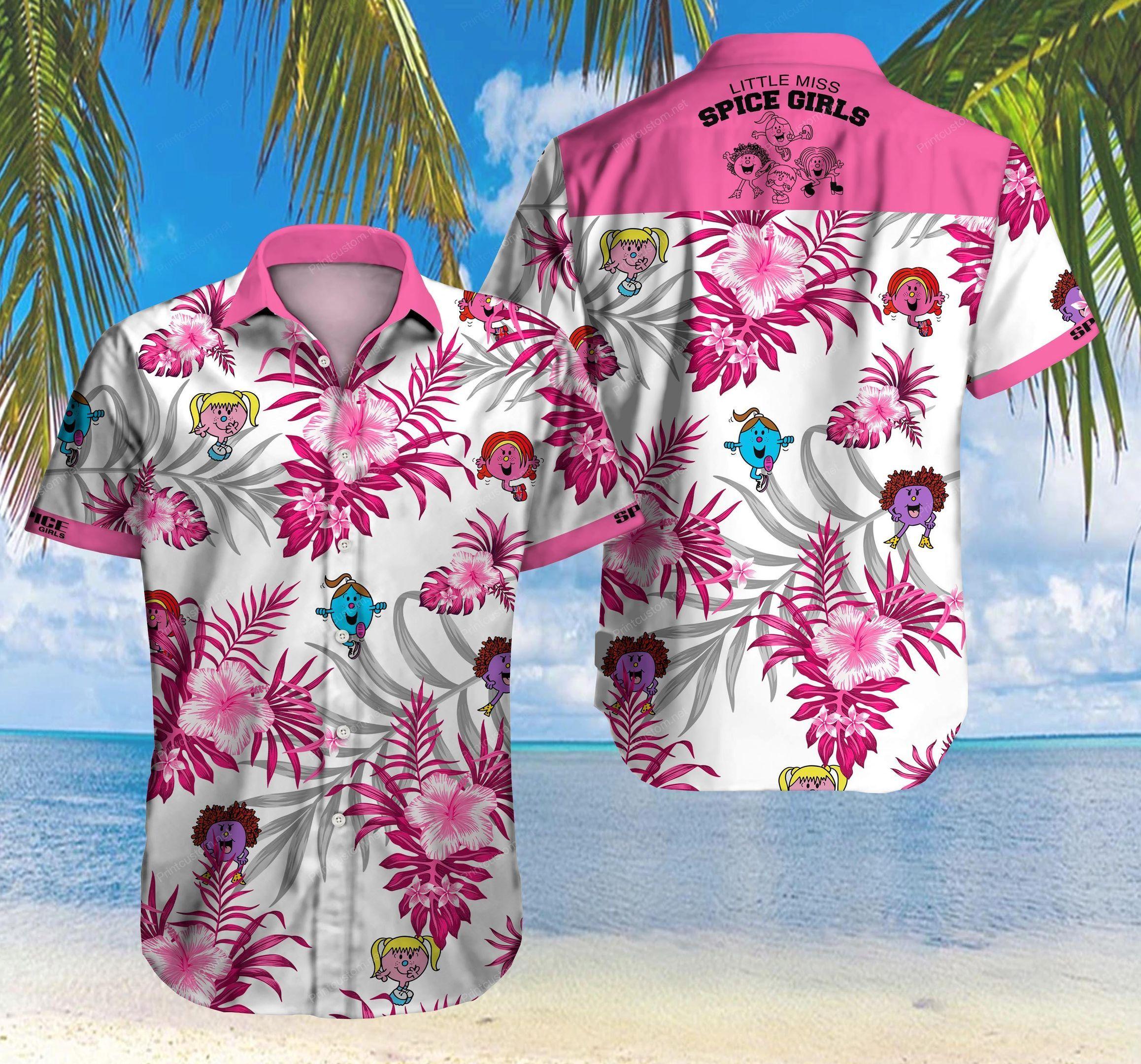 Spice Girls Hawaii Shirt Ver 10 Summer Button Up