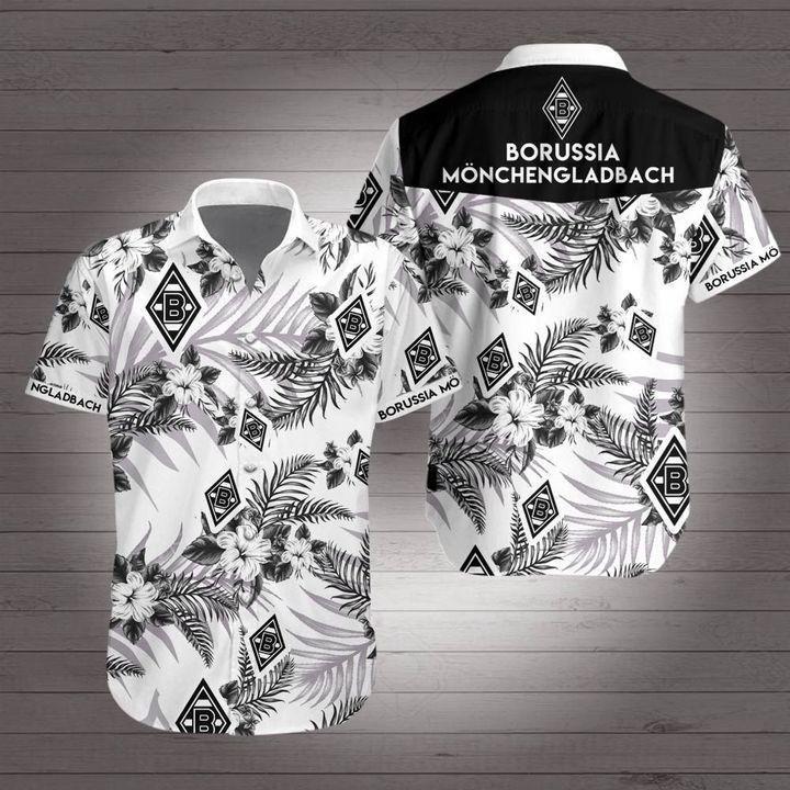 Borussia monchengladbach Bundesliga football Hawaiian Shirt Summer Shirt