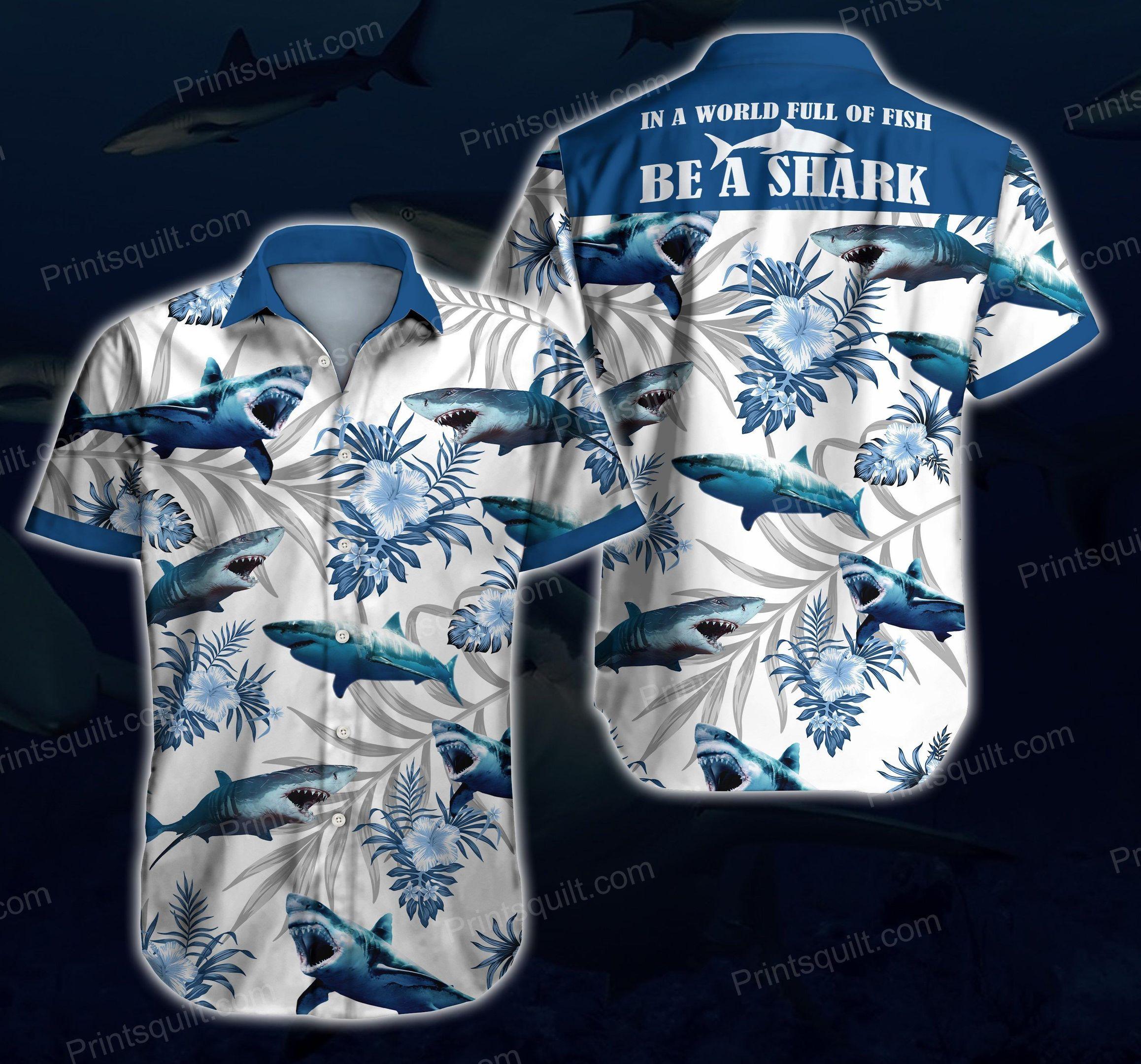 Shark Lovers 3d Hawaii Shirt V3