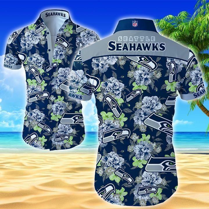 Nfl Seattle Seahawks Hawaiian Shirt Summer Button Up Shirt