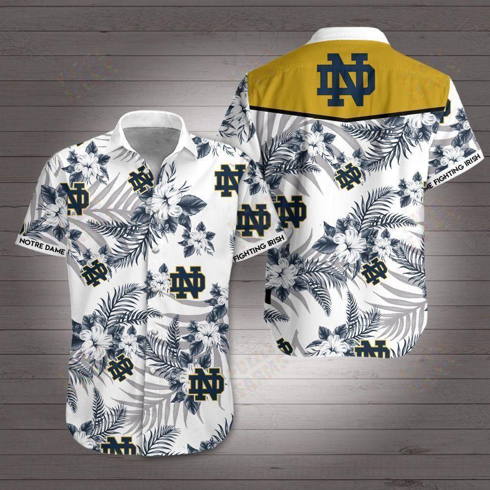 Notre Dame Fighting Irish Hawaii Shirt