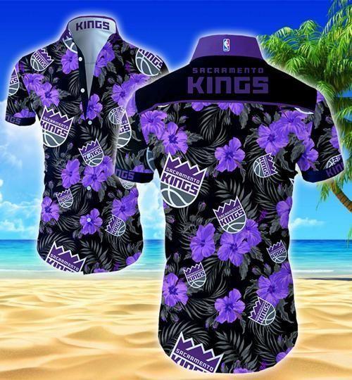 Sacramento Kings Summer Hawaii Shirt Beach Wear