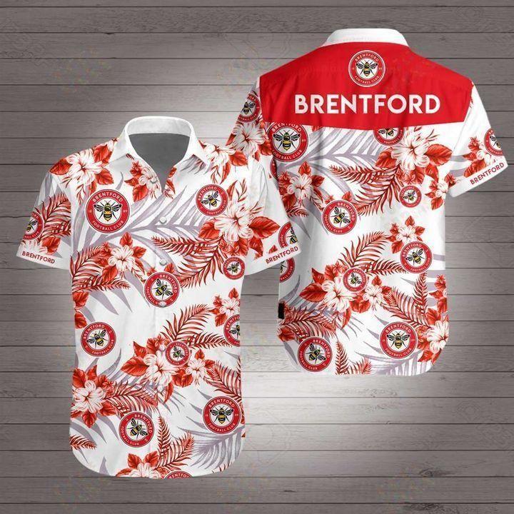 Brentford Premier League football Hawaiian Shirt