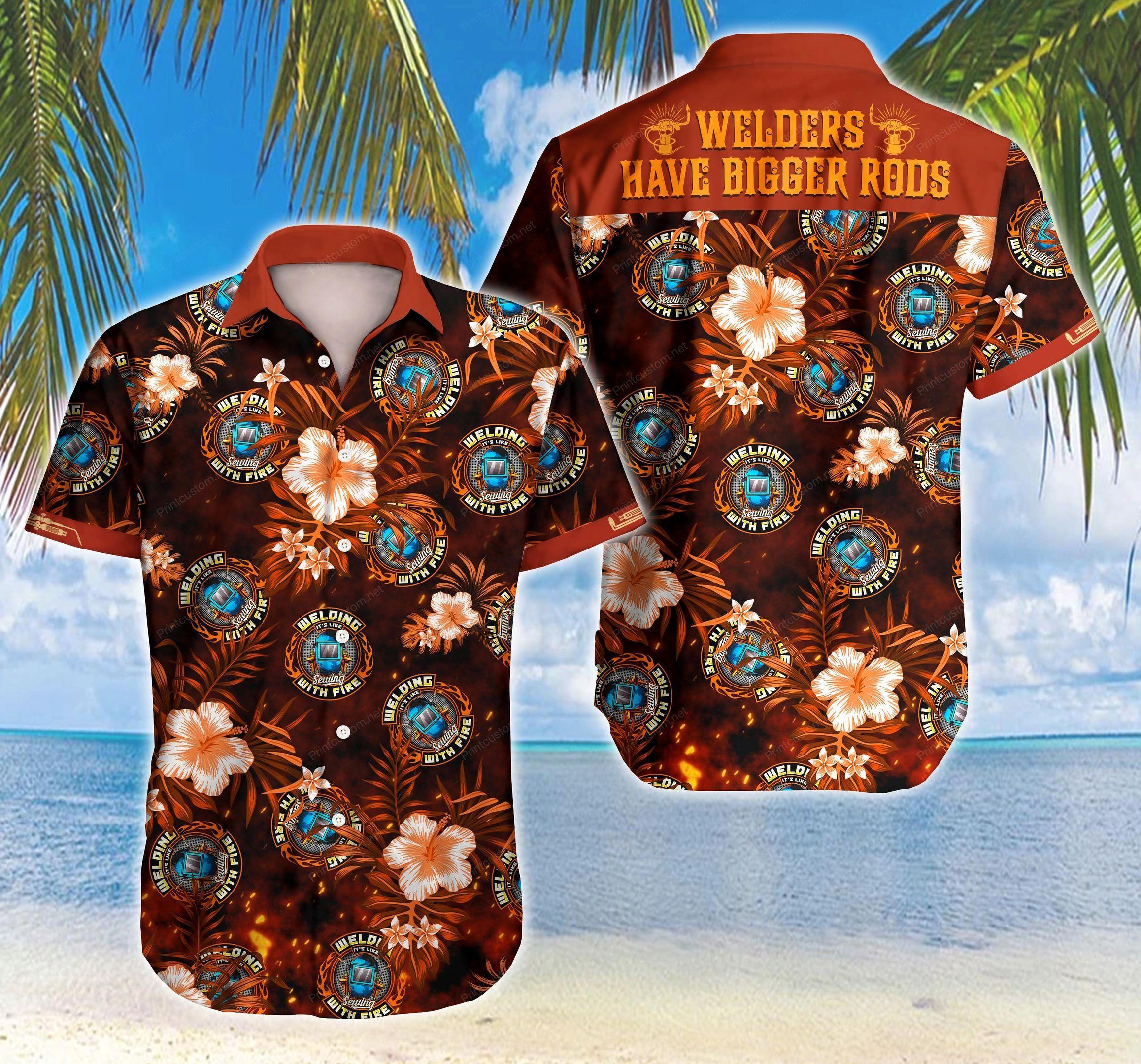Welder Have Bigger Robs Hawaii Shirt