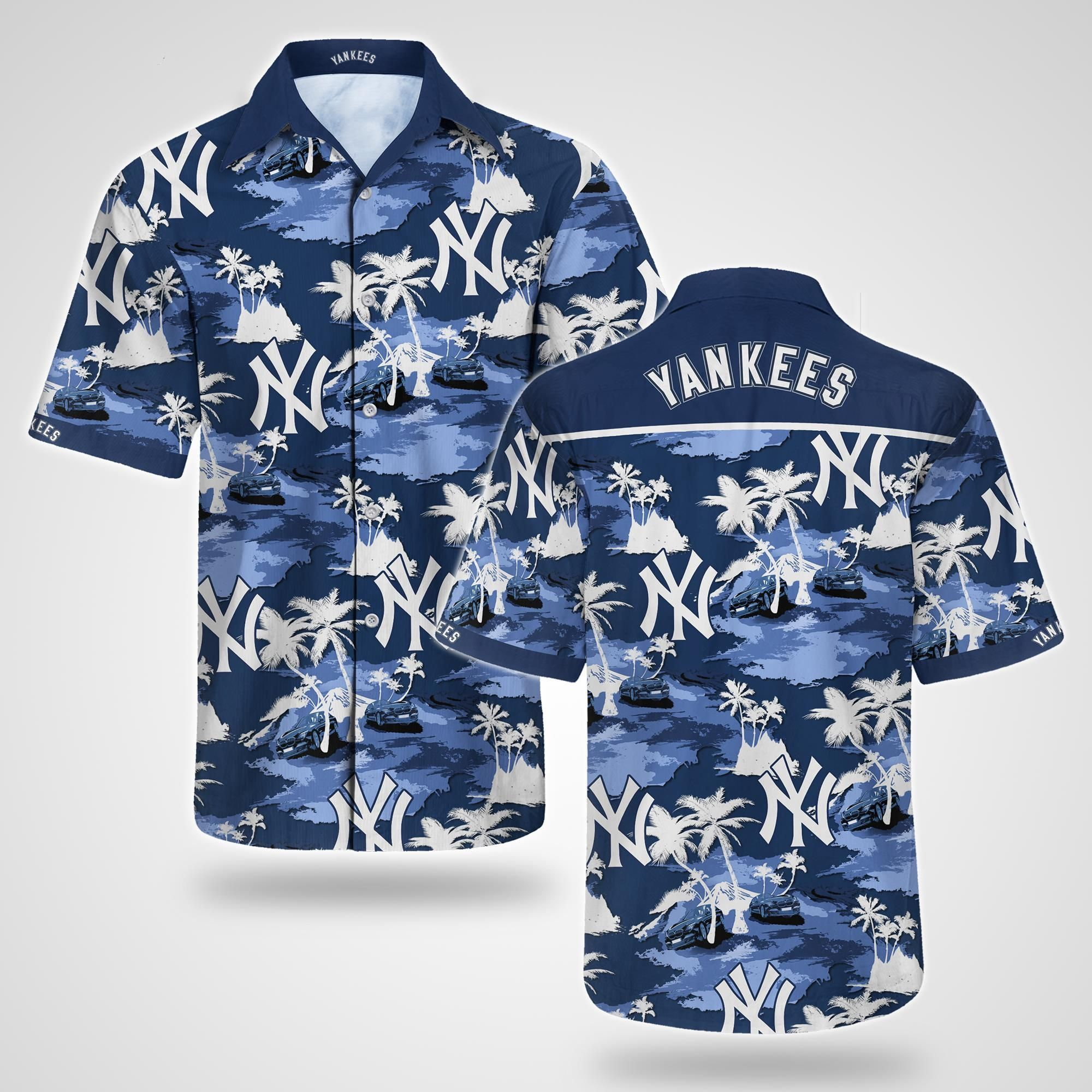 New York Yankees Hawaiian Shirt baseball Summer Shirt