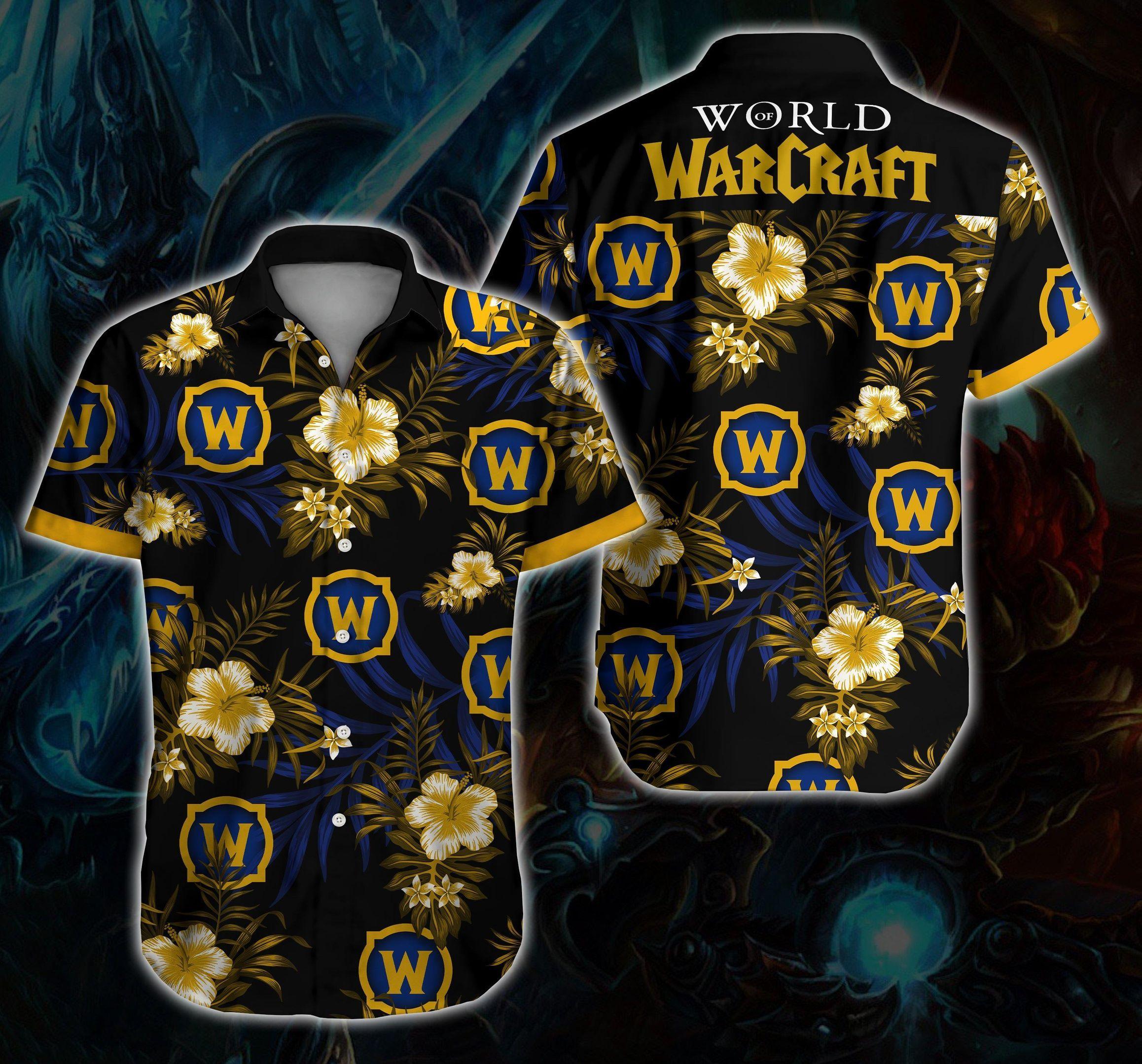 World Of Warcraft Hawaii Shirt Ver 3