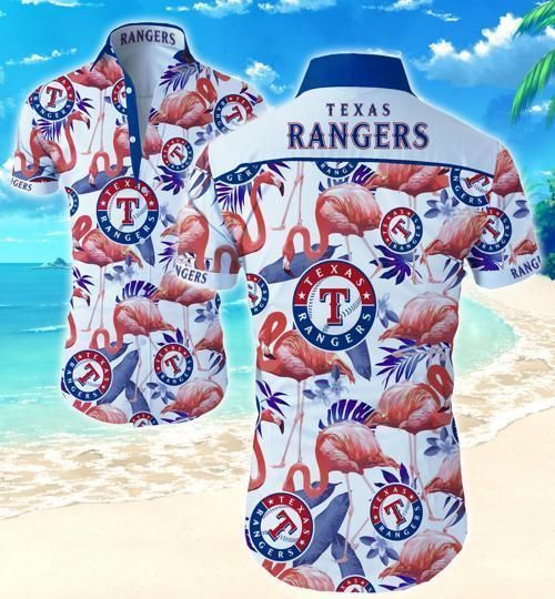 Texas Rangers Hawaii Shirt Summer