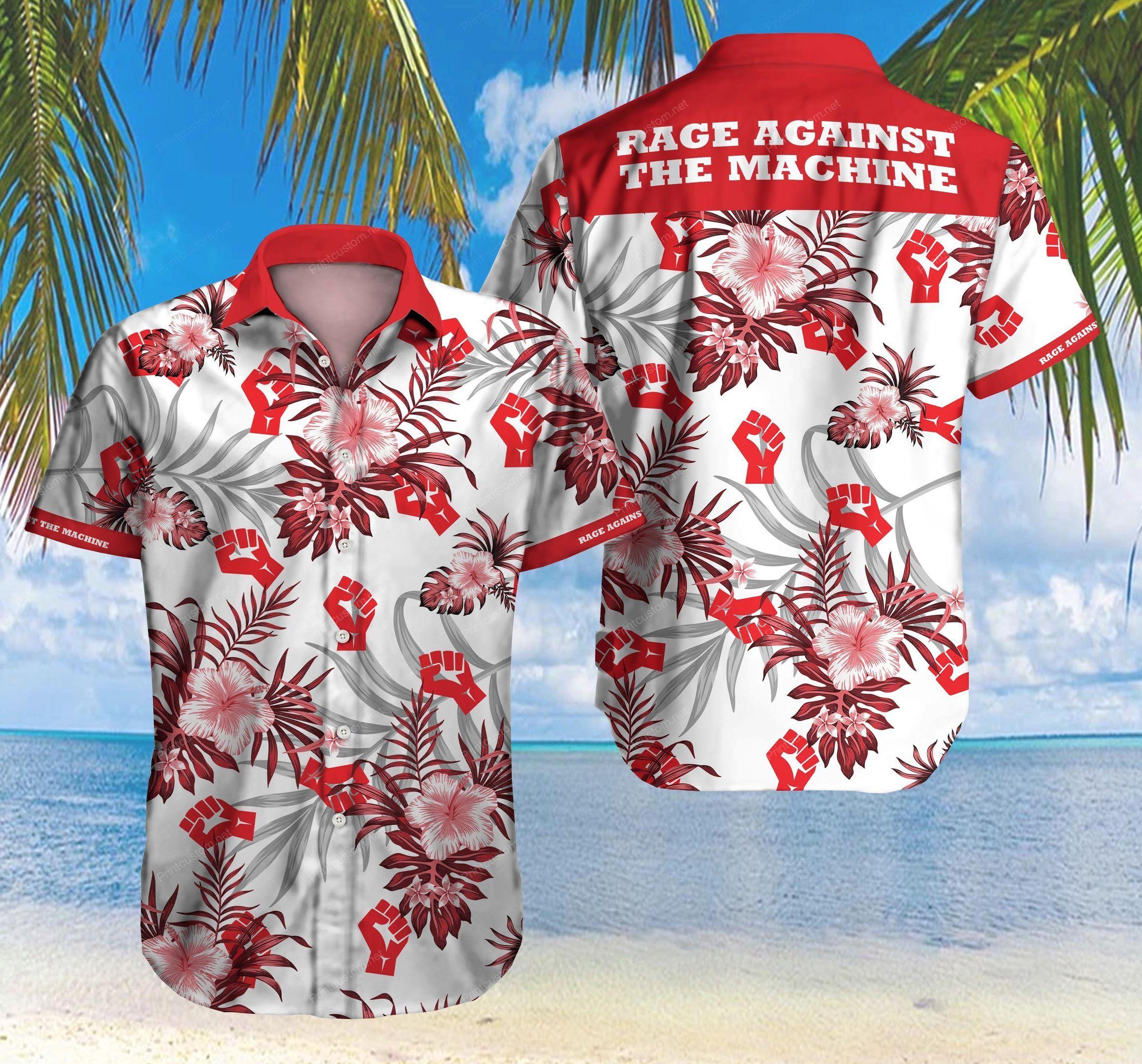 Rage Against The Machine Hawaii Shirt