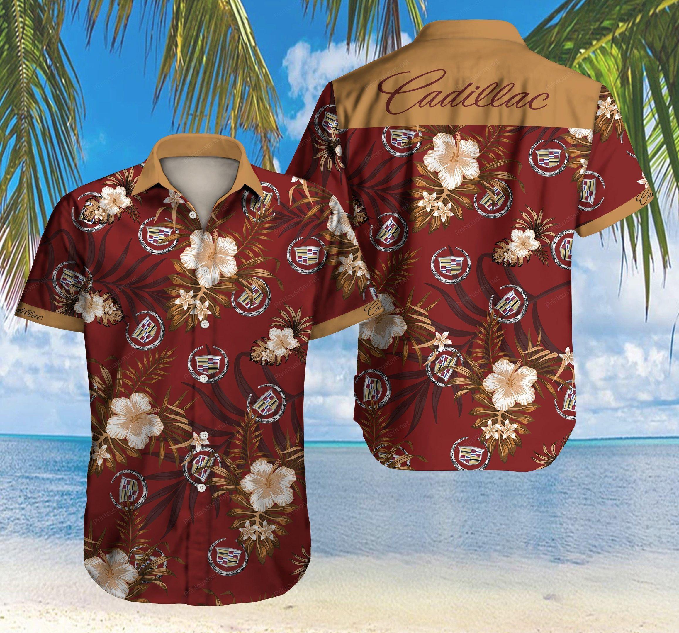 Cadillac Hawaii Shirt Ver2Hawaii Shirt
