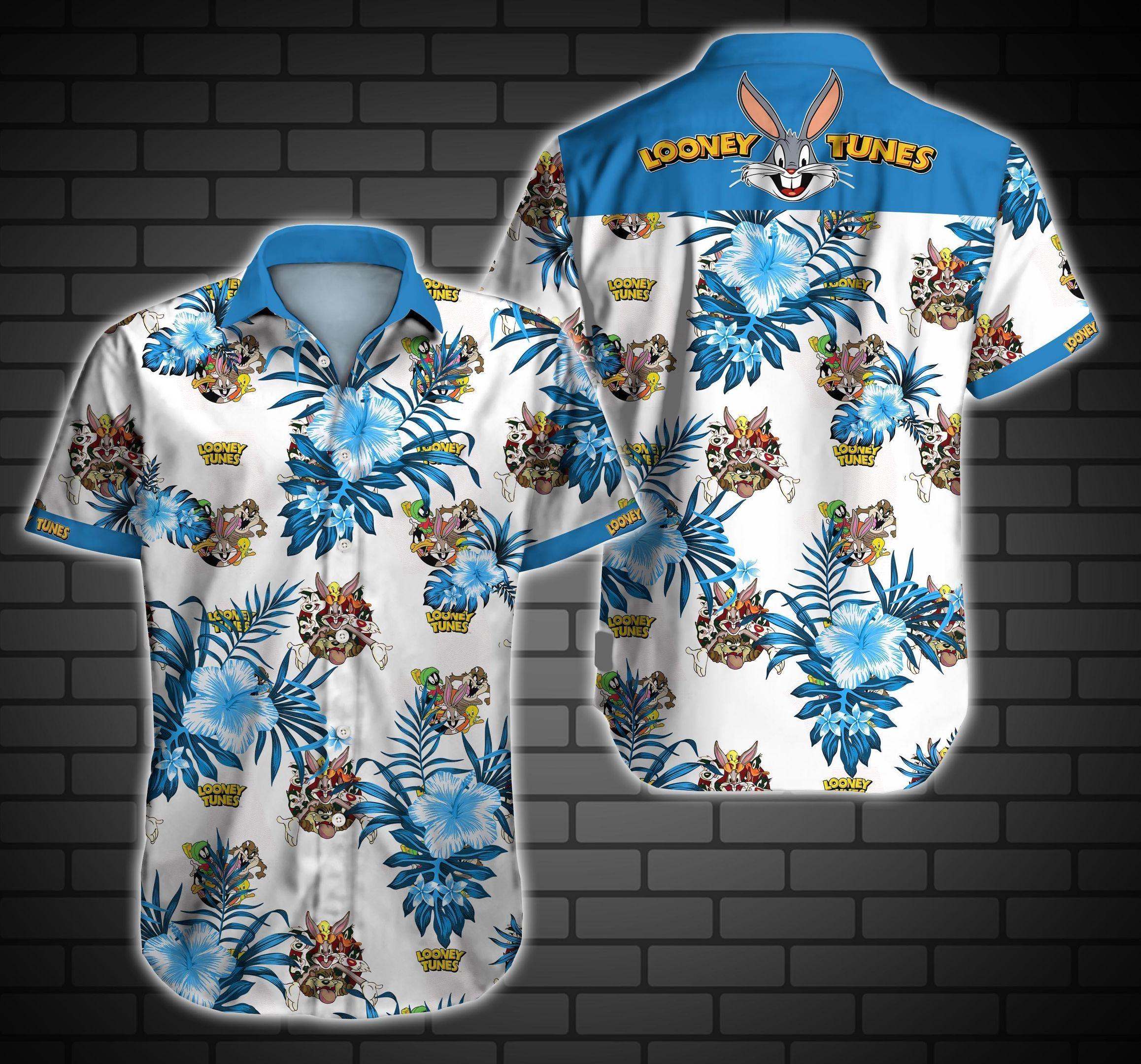 Looney Tunes Hawaii Shirt