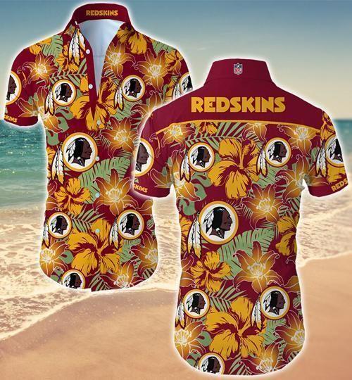 Washington Redskins Hawaii Fit Body Shirt