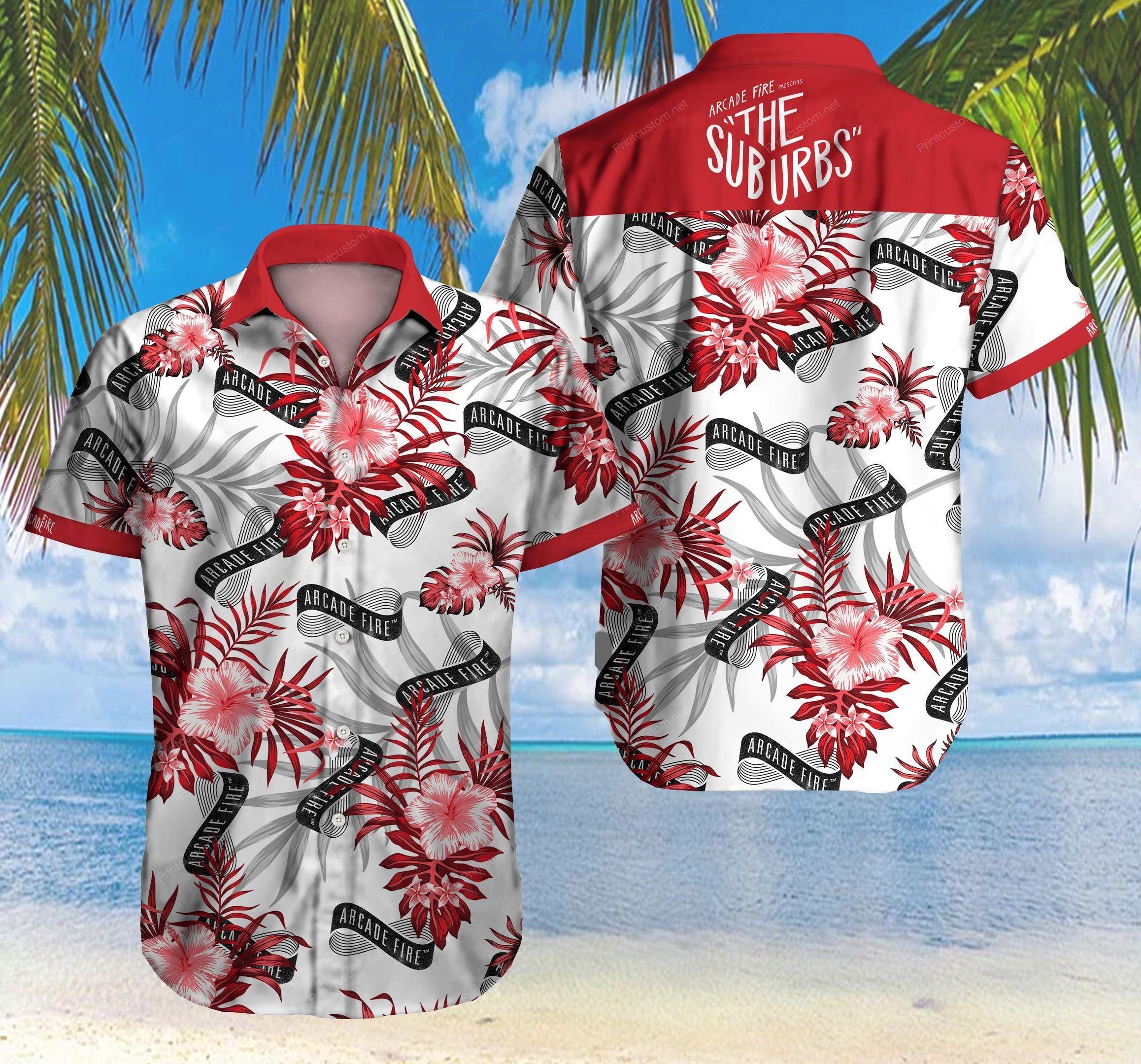 Arcade Fire The Suburbs Hawaiian Shirt Summer Shirt