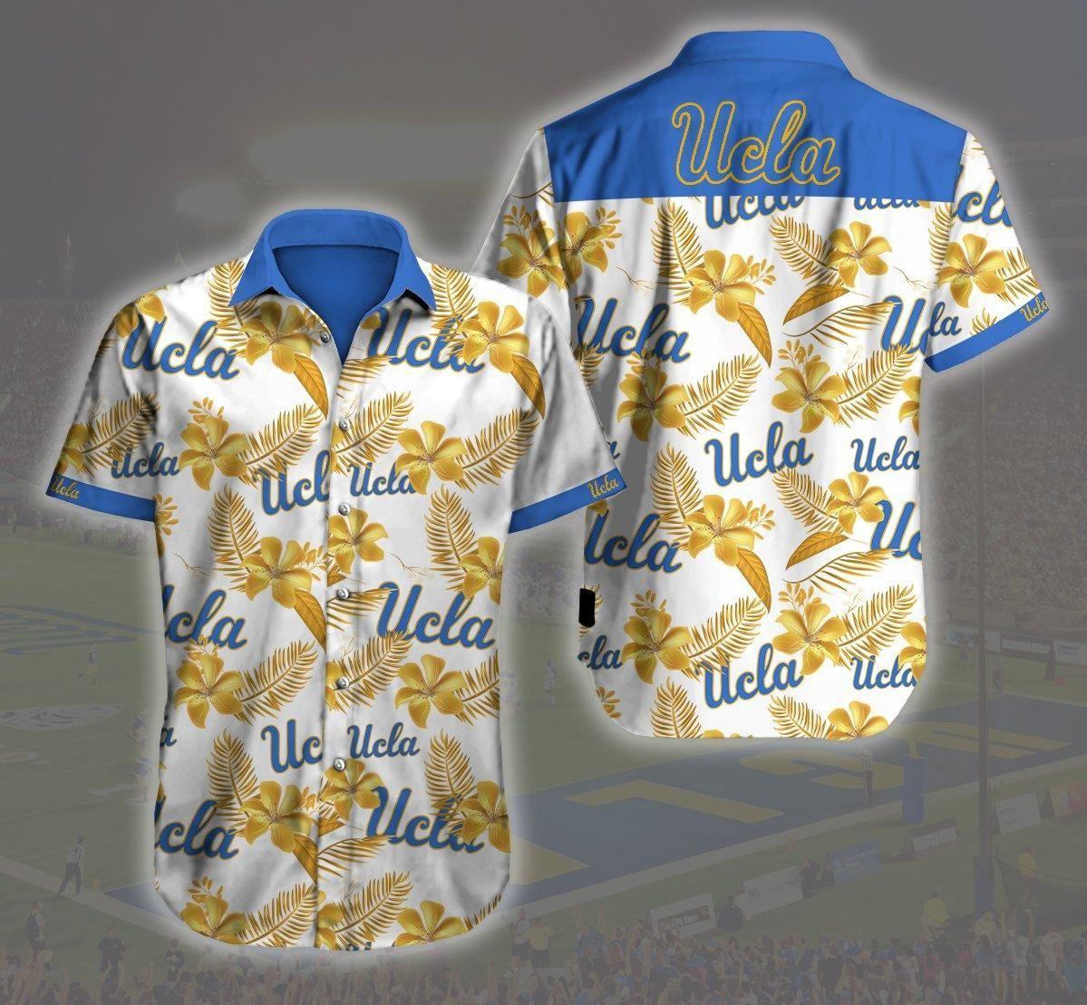 Ucla Bruins Logo 3d Hawaii Shirt