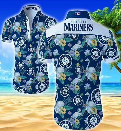 Seattle Mariners Hawaii Shirt Summer Beach Wear