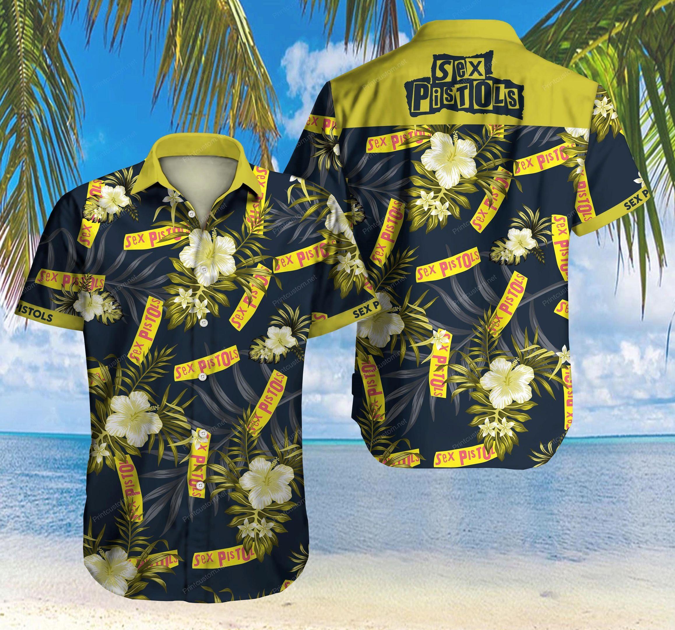Sex Pistols Hawaii Shirt Summer Beach Wear