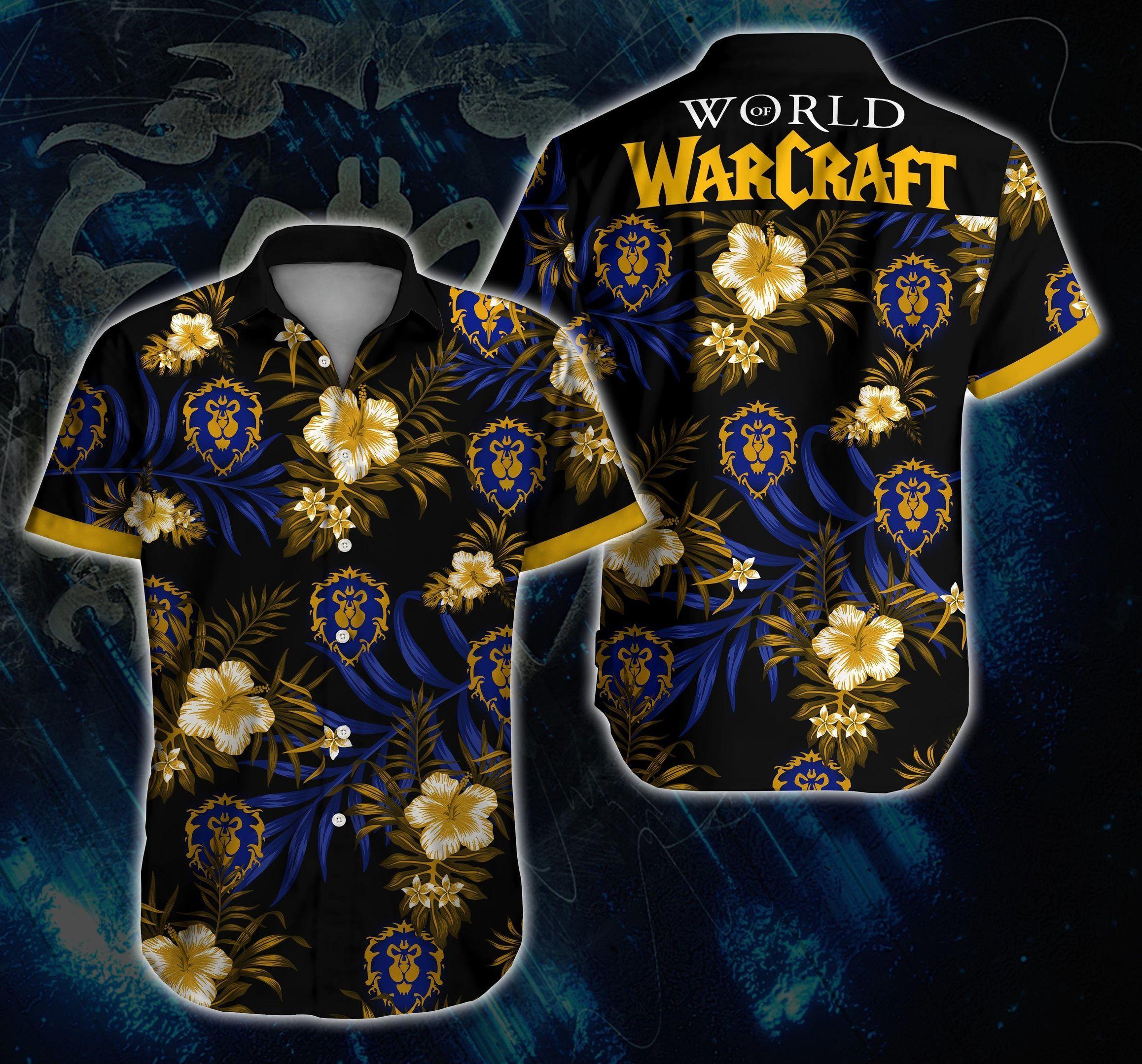 World Of Warcraft War Hawaii Shirt