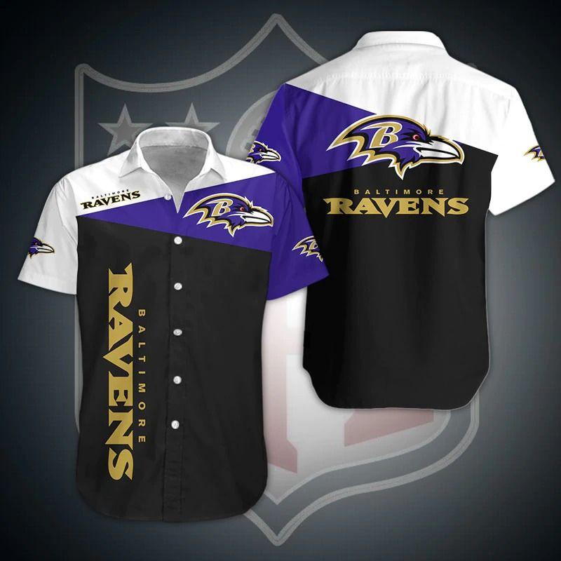 NFL Baltimore Ravens Shirt Hawaiian Shirt
