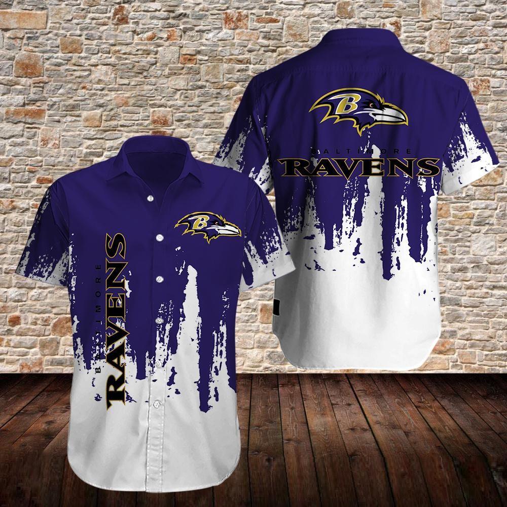Baltimore Ravens Limited Edition Purple Hawaiian Shirt