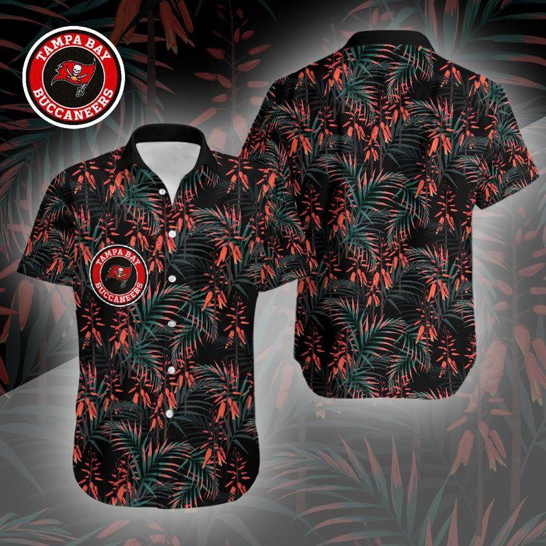 NFL Tampa Bay Buccaneers Dark Forest Hawaiian Shirt
