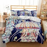 Natural Scenery Jellyfish XM1008232CL Bedding Set