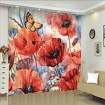 Butterfly XM0608178CL Window Curtains