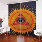 Sun And Moon XM0608115CL Window Curtains