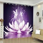Butterfly XM0608110CL Window Curtains