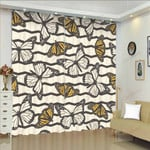 Butterfly XM0608109CL Window Curtains