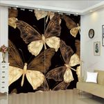Butterfly XM0608108CL Window Curtains