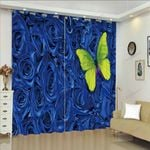 Home Decor Butterfly XM0608181CL Window Curtains