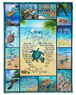 To My Daughter You Are My Whole Sky YC0309381CL Fleece Blanket