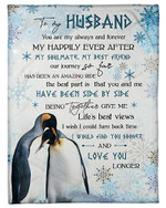 To My Husband You Are Me My Always And Forever YC0309219CL Fleece Blanket