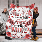 To My Dad You Are My Angel YC0109903CL Fleece Blanket
