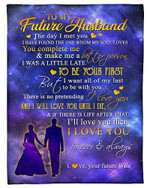 To My Future Husband I Love You Forever YC0309396CL Fleece Blanket